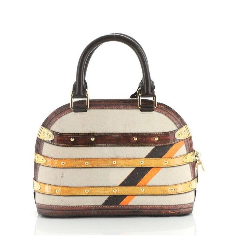 Women's or Men's Louis Vuitton Alma Handbag Limited Edition Time Trunk BB For Sale