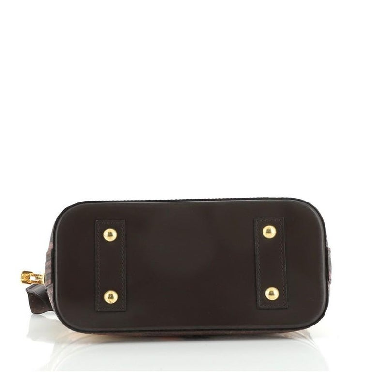 Louis Vuitton Alma Handbag Limited Edition Time Trunk BB For Sale 1