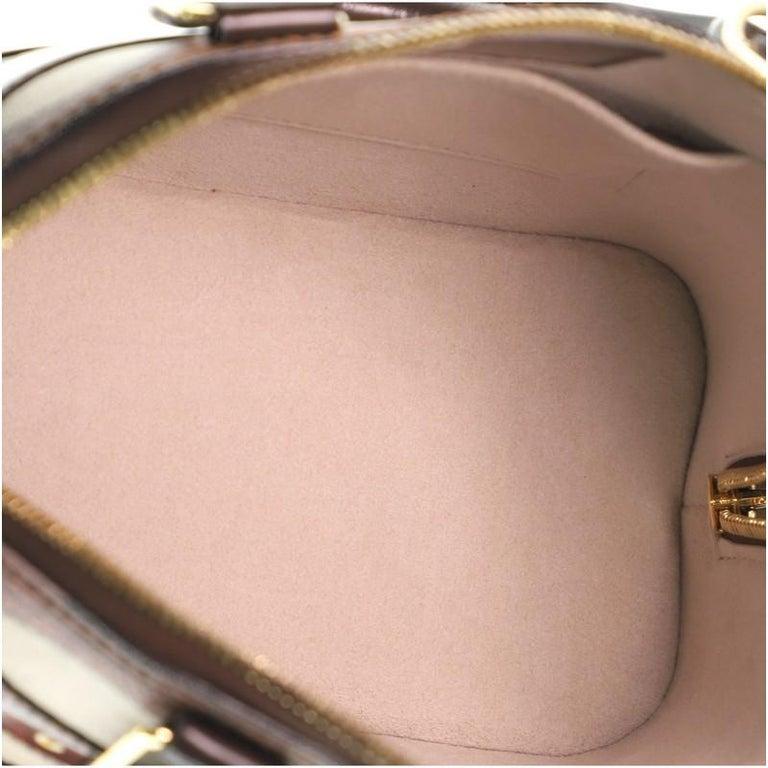 Louis Vuitton Alma Handbag Limited Edition Time Trunk BB For Sale 2