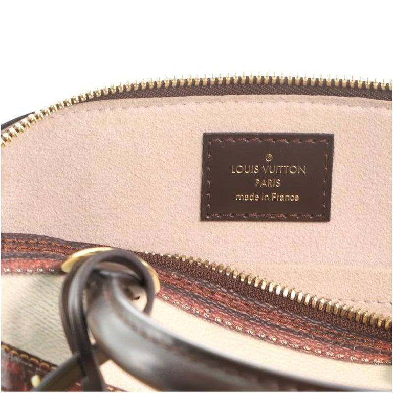 Louis Vuitton Alma Handbag Limited Edition Time Trunk BB For Sale 3