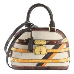 Louis Vuitton Alma Handbag Limited Edition Time Trunk BB