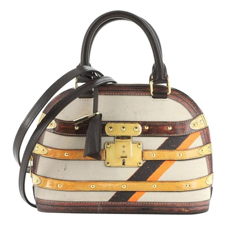 Louis Vuitton Alma Handbag Limited Edition Time Trunk BB For Sale