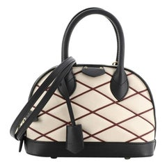 Louis Vuitton Alma Handbag Malletage Leather BB