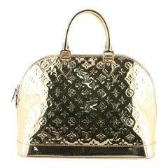 Louis Vuitton Alma Handbag Miroir PVC GM