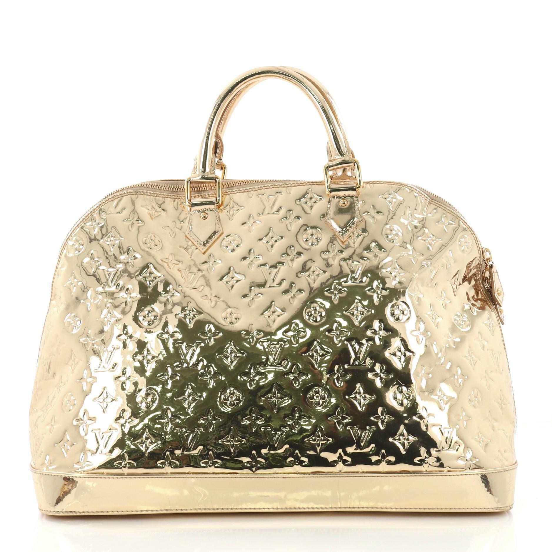 227c45706b51 Louis Vuitton Alma Handbag Miroir PVC XL at 1stdibs