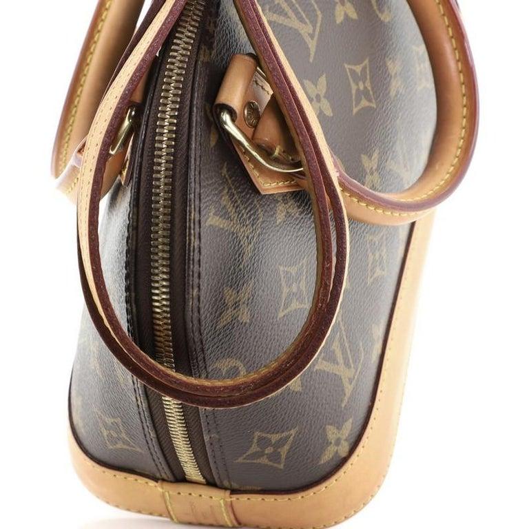 Louis Vuitton Alma Handbag Monogram Canvas BB 8