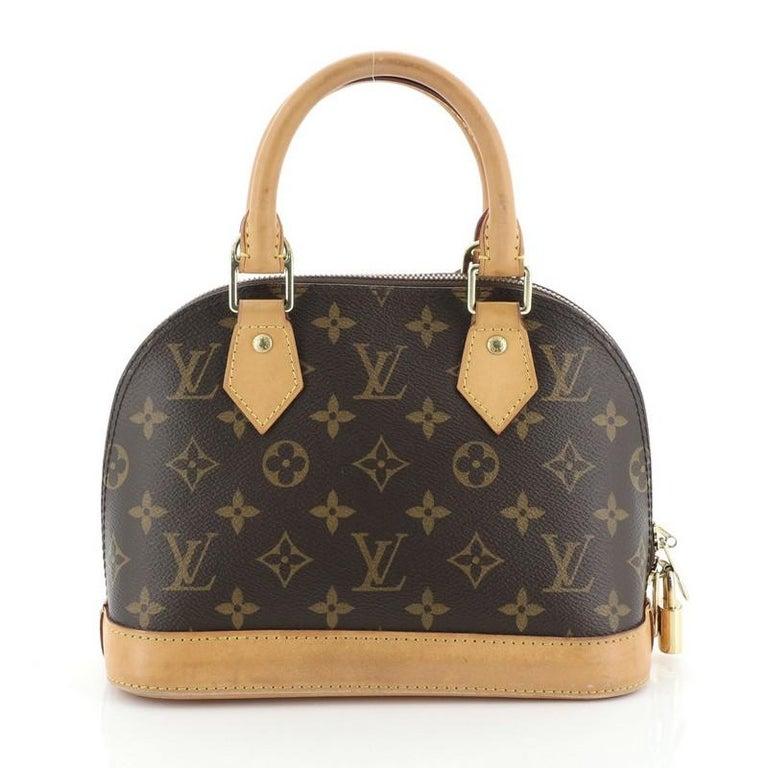 Women's or Men's Louis Vuitton Alma Handbag Monogram Canvas BB