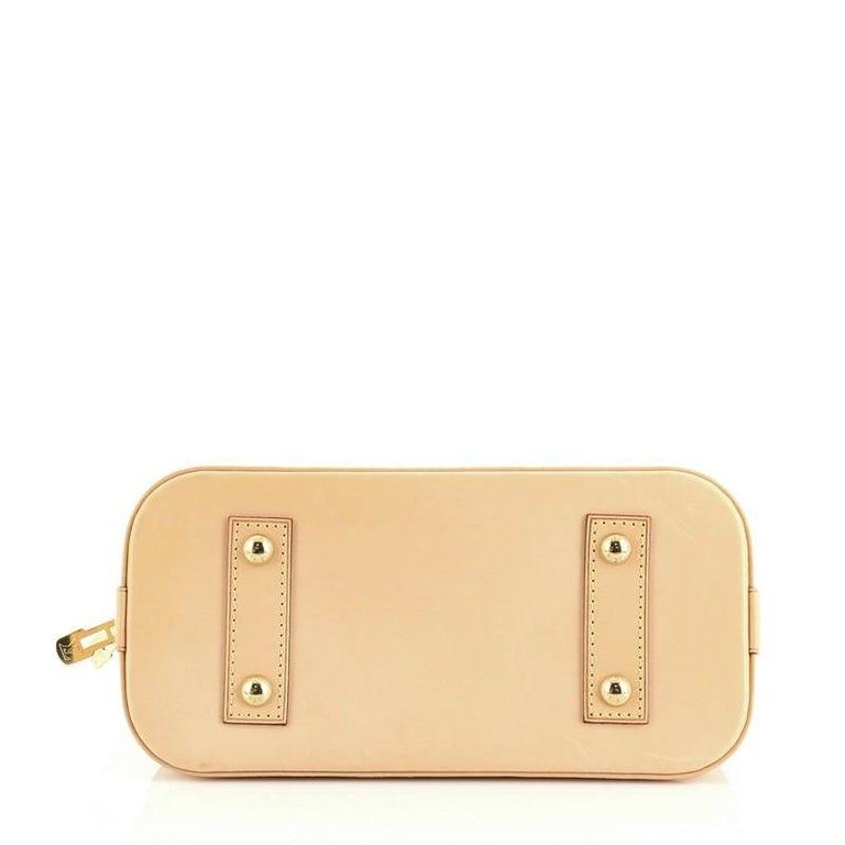 Women's or Men's Louis Vuitton Alma Handbag Monogram Canvas BB For Sale