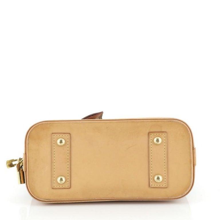 Louis Vuitton Alma Handbag Monogram Canvas BB 1