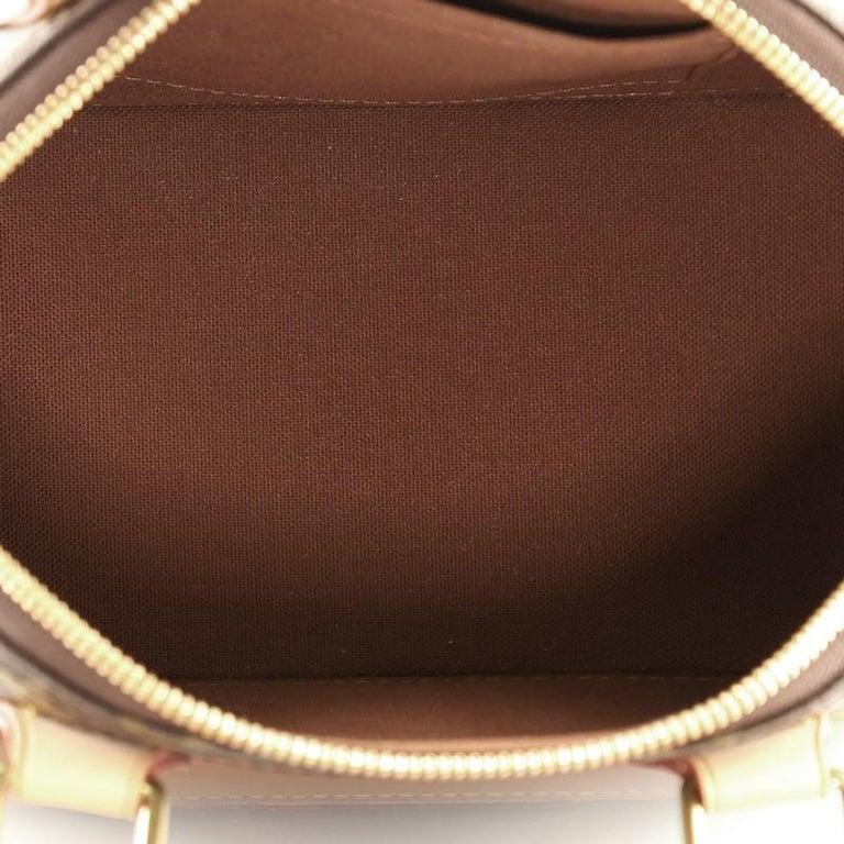 Louis Vuitton Alma Handbag Monogram Canvas BB For Sale 1