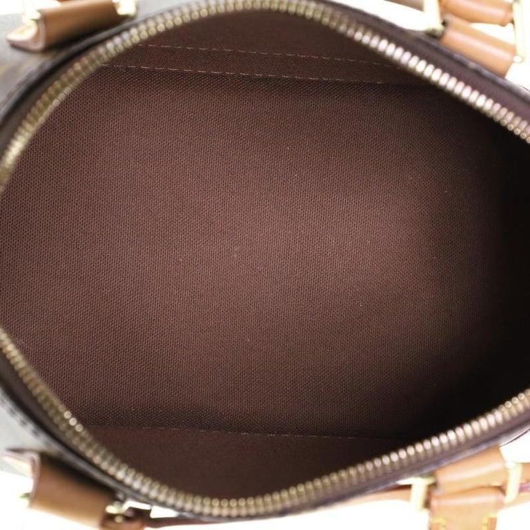 Louis Vuitton Alma Handbag Monogram Canvas BB 2