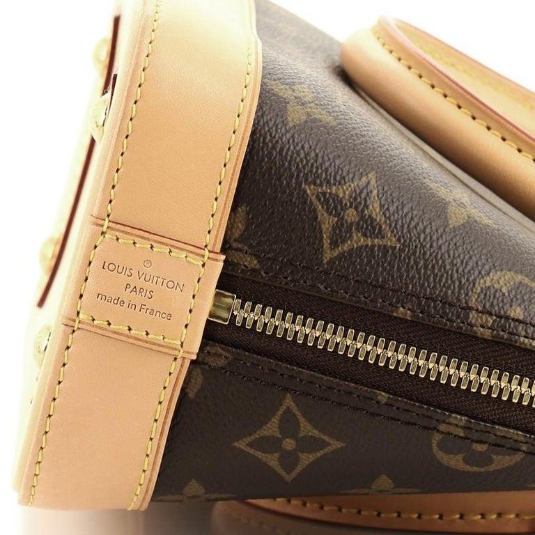 Louis Vuitton Alma Handbag Monogram Canvas BB For Sale 2