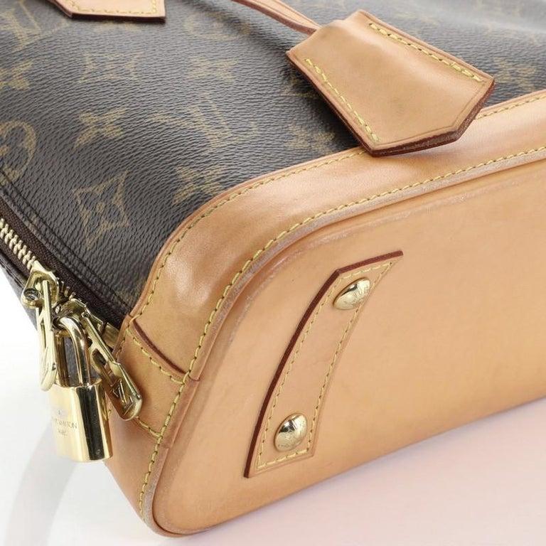 Louis Vuitton Alma Handbag Monogram Canvas BB 3