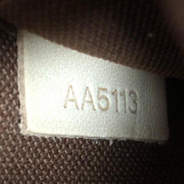 Louis Vuitton Alma Handbag Monogram Canvas BB For Sale 3
