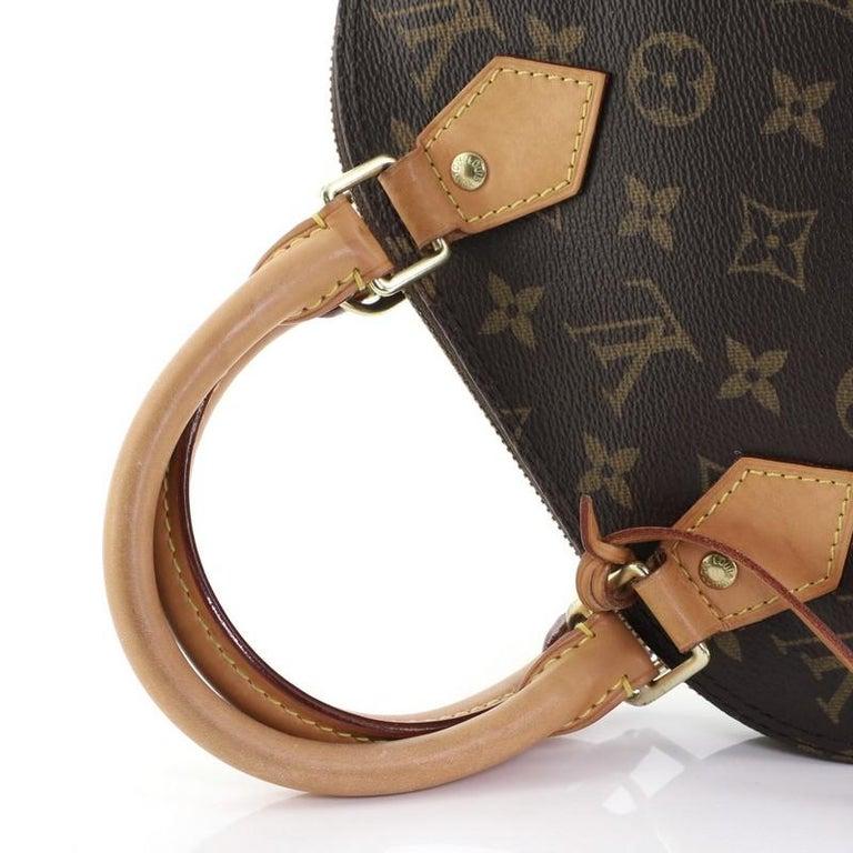 Louis Vuitton Alma Handbag Monogram Canvas BB 4