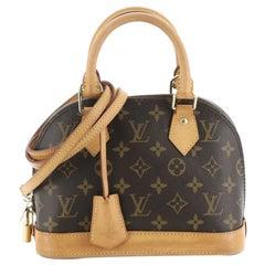 Louis Vuitton Alma Handbag Monogram Canvas BB