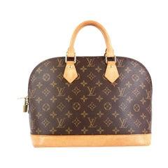 Louis Vuitton Alma Handbag Monogram Canvas PM