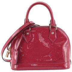 Louis Vuitton Alma Handbag Monogram Vernis BB