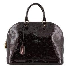 Louis Vuitton Alma Handbag Monogram Vernis GM