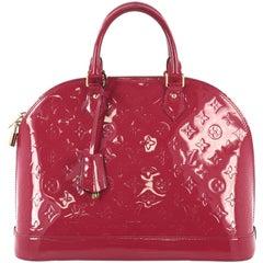Louis Vuitton Alma Handbag Monogram Vernis MM