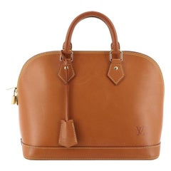 Louis Vuitton Alma Handbag Nomade Leather PM