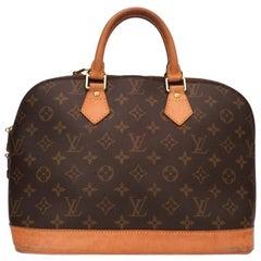 Louis Vuitton Alma MM Monogrm Bag