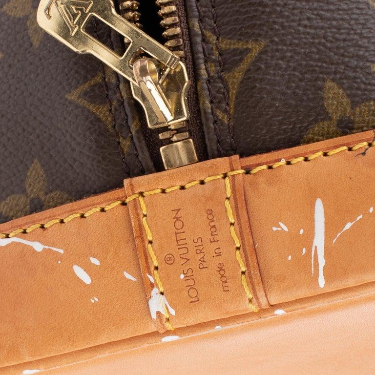Women's Louis Vuitton Alma Monogram customized
