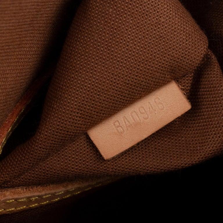 Louis Vuitton Alma Monogram customized