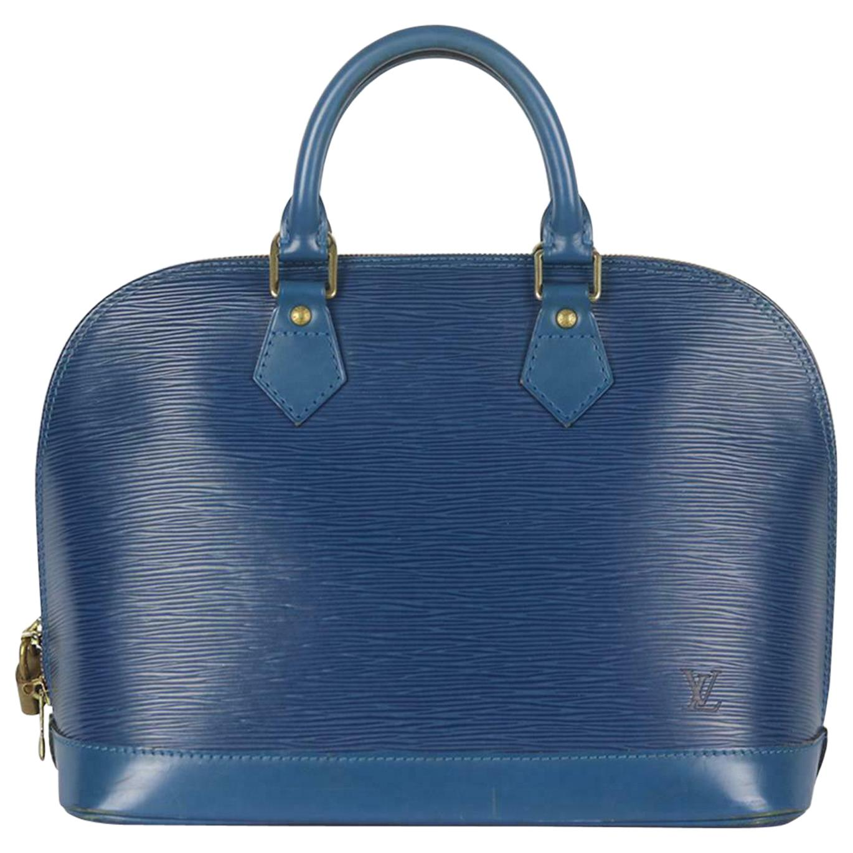 Louis Vuitton Alma PM Epi Leather Tote Bag