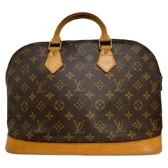 Louis Vuitton Alma PM Monogram Top Handle Handbag, France 1994.