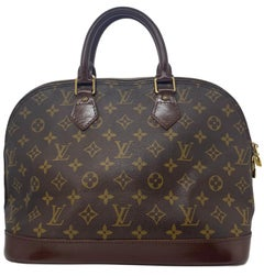 Louis Vuitton Alma PM Monogram Top Handle Handbag, France 1995.