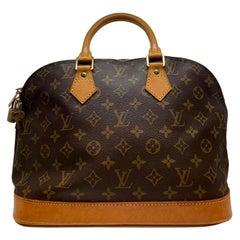 Louis Vuitton Alma PM Monogram Top Handle Handbag, France 1995.