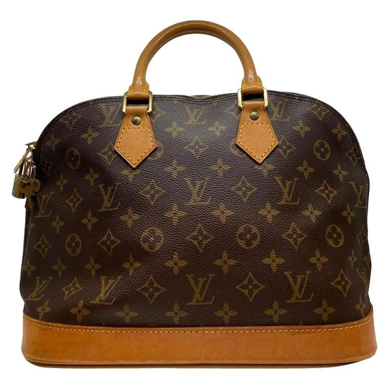 Louis Vuitton Alma Pm Monogram Top Handle Handbag France 1995 For Sale At 1stdibs
