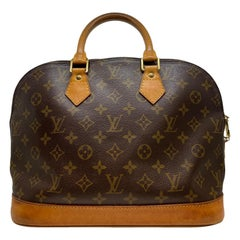 Louis Vuitton Alma PM Monogram Top Handle Handbag, France 1996.