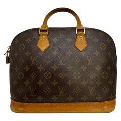 Louis Vuitton Alma PM Monogram Top Handle Handbag, France 1997.