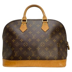 Louis Vuitton Alma PM Monogram Top Handle Handbag, France 1997.