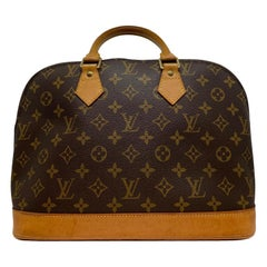 Louis Vuitton Alma PM Monogram Top Handle Handbag, France 2001.