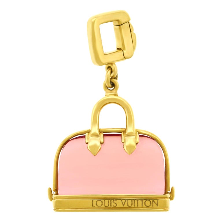 Louis Vuitton Alma Pocketbook Charm For Sale