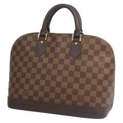 LOUIS VUITTON alma Womens handbag N53151 Damier ebene