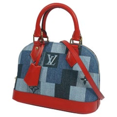 LOUIS VUITTON almaBB Womens handbag M45042 blue
