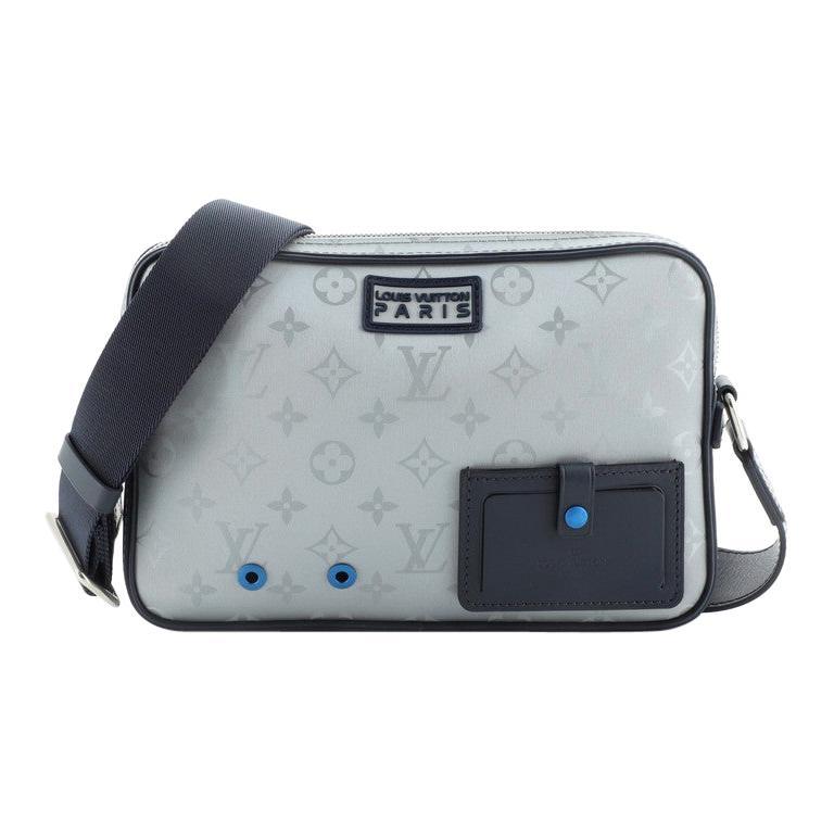 Louis Vuitton Alpha Messenger Bag Limited Edition Monogram Satellite Canvas