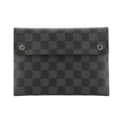 Louis Vuitton  Alpha Pouch Damier Graphite MM