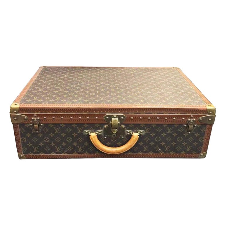 Louis Vuitton Alzer 60 Luggage Bag, monogram canvas  For Sale