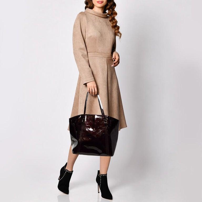 Louis Vuitton Amarante Monogram Vernis Avalon GM Bag 5