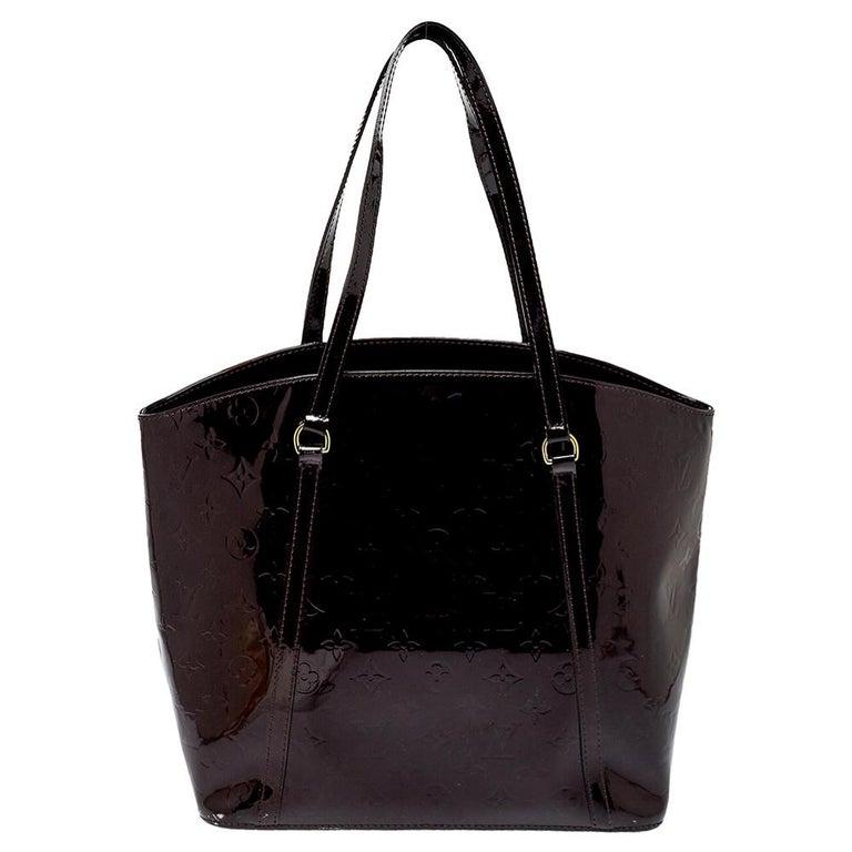 Women's Louis Vuitton Amarante Monogram Vernis Avalon GM Bag