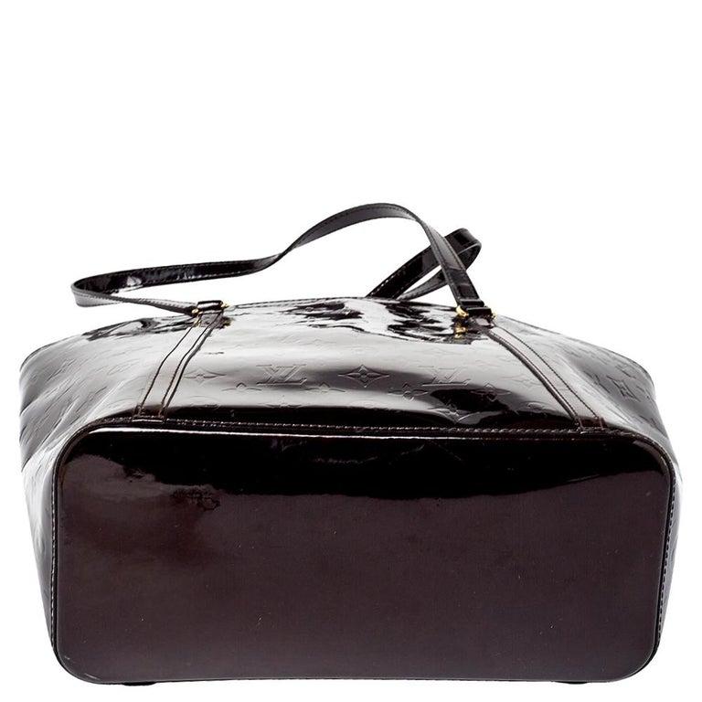 Louis Vuitton Amarante Monogram Vernis Avalon GM Bag 3