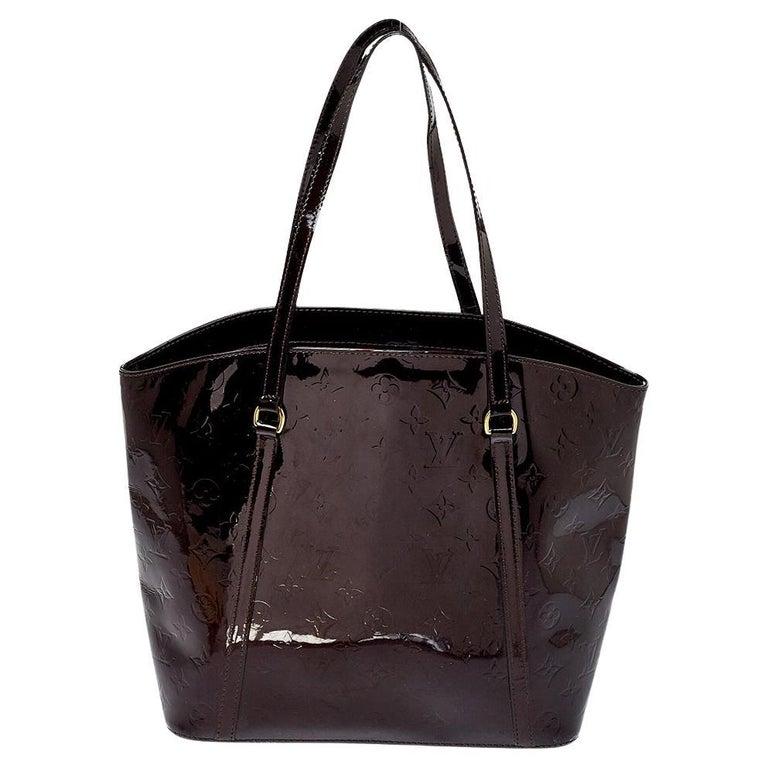 Louis Vuitton Amarante Monogram Vernis Avalon GM Bag