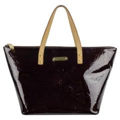 Louis Vuitton Amarante Monogram Vernis Bellevue PM Tote Bag
