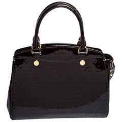 Louis Vuitton Amarante Monogram Vernis Brea PM NM Bag