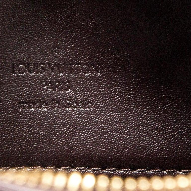 Louis Vuitton Amarante Monogram Vernis Leather Houston Bag For Sale 3